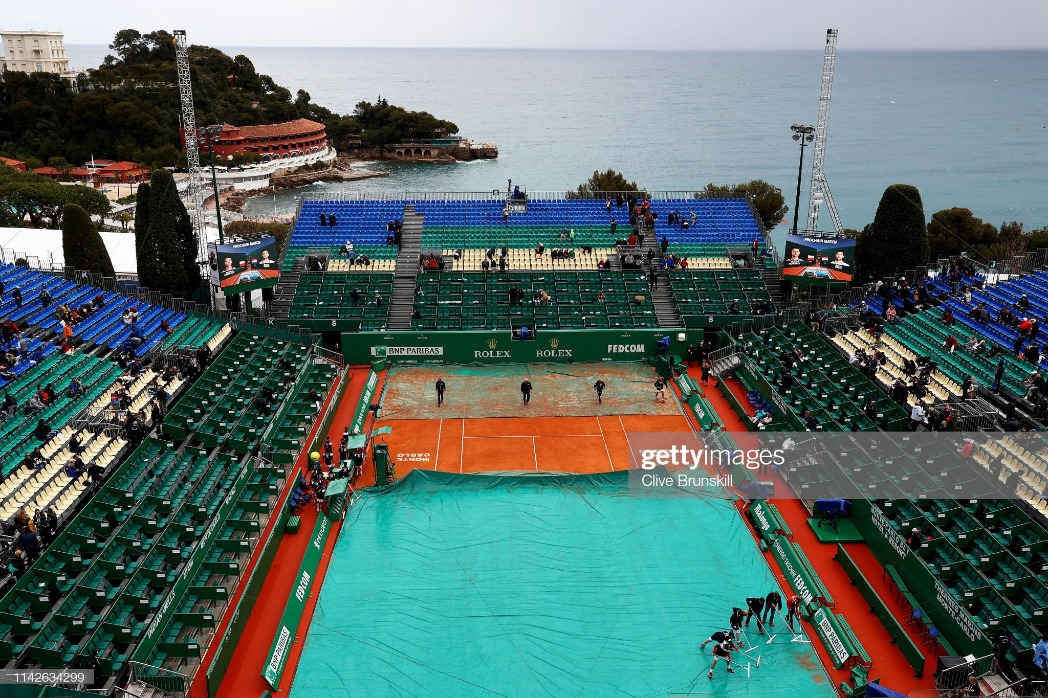 Rolex Monte-Carlo Masters - Day One : News Photo