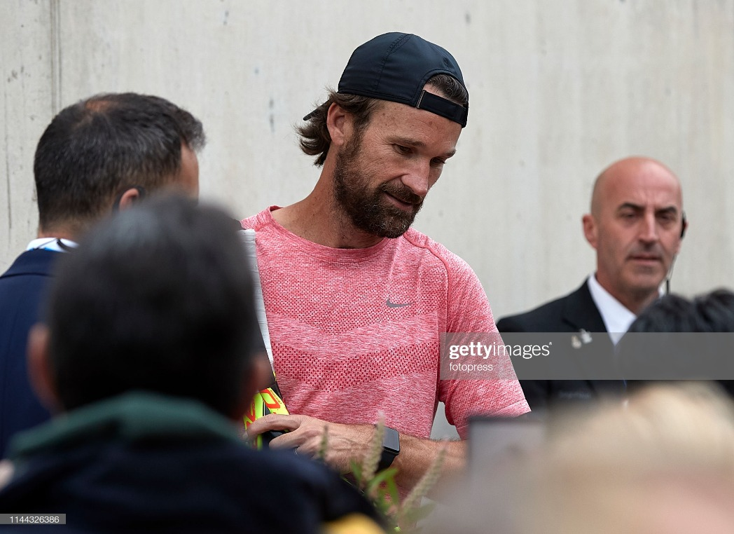 Day 2 - Celebrities At Open Banc Sabadell 2019 : News Photo
