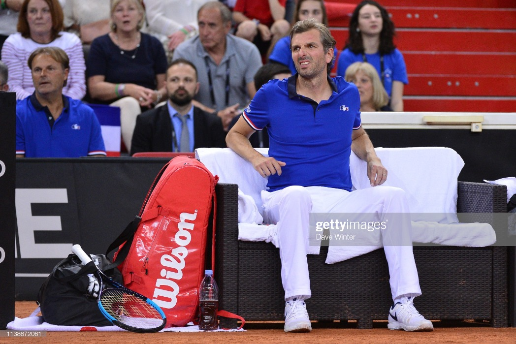 France v Romania - Fed Cup : News Photo