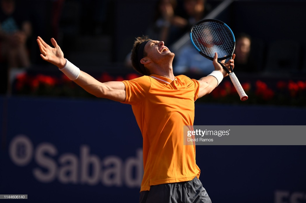 Barcelona Open Banc Sabadell - Day Two : News Photo