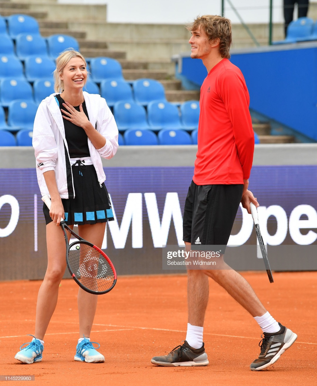 Celebrity Tennis Match - BMW Open by FWU : News Photo