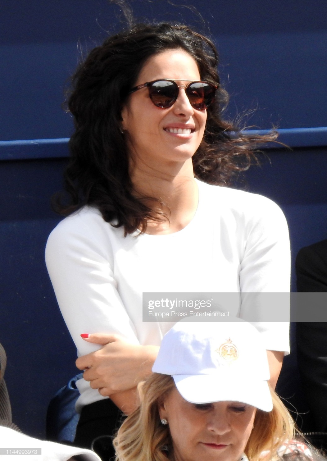 Celebrities Sighting in Conde de Godo Tennis Tournament 2019 : News Photo