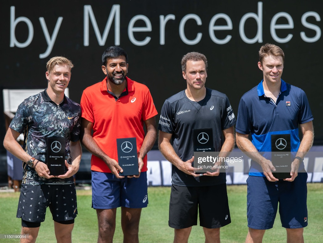 Tennis: ATP Tour - Stuttgart : News Photo