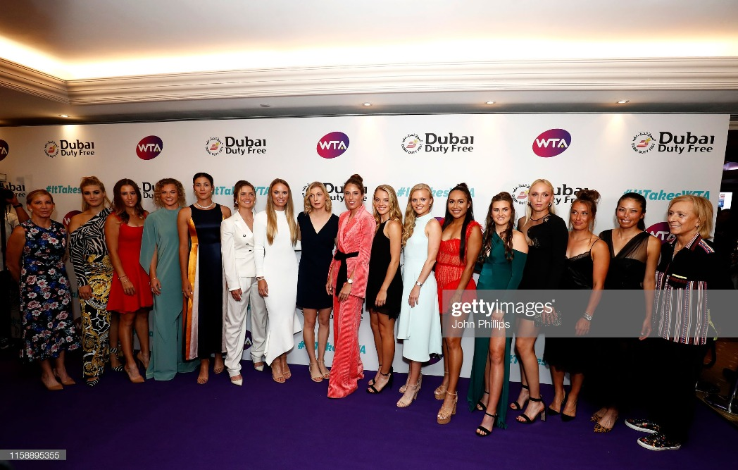 Dubai Duty Free WTA Summer Party 2019 : News Photo