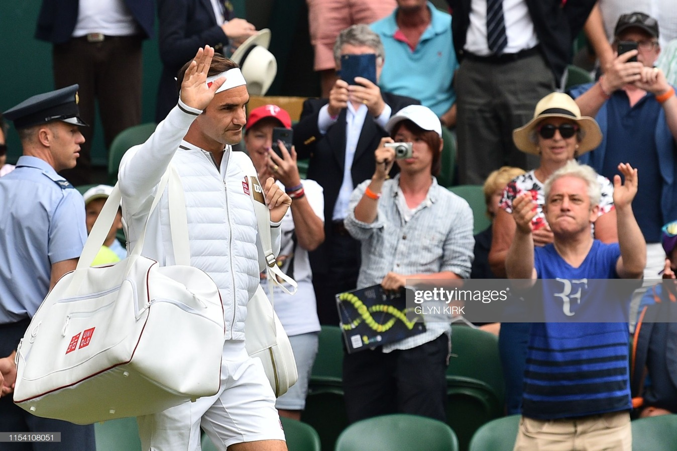 TENNIS-GBR-WIMBLEDON-VIP : News Photo