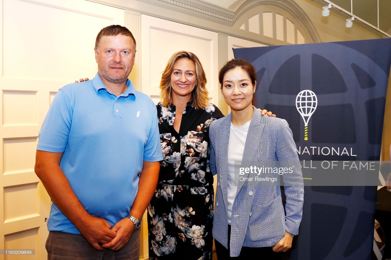 International Tennis Hall of Fame Class of 2019 Induction Ceremony : News Photo