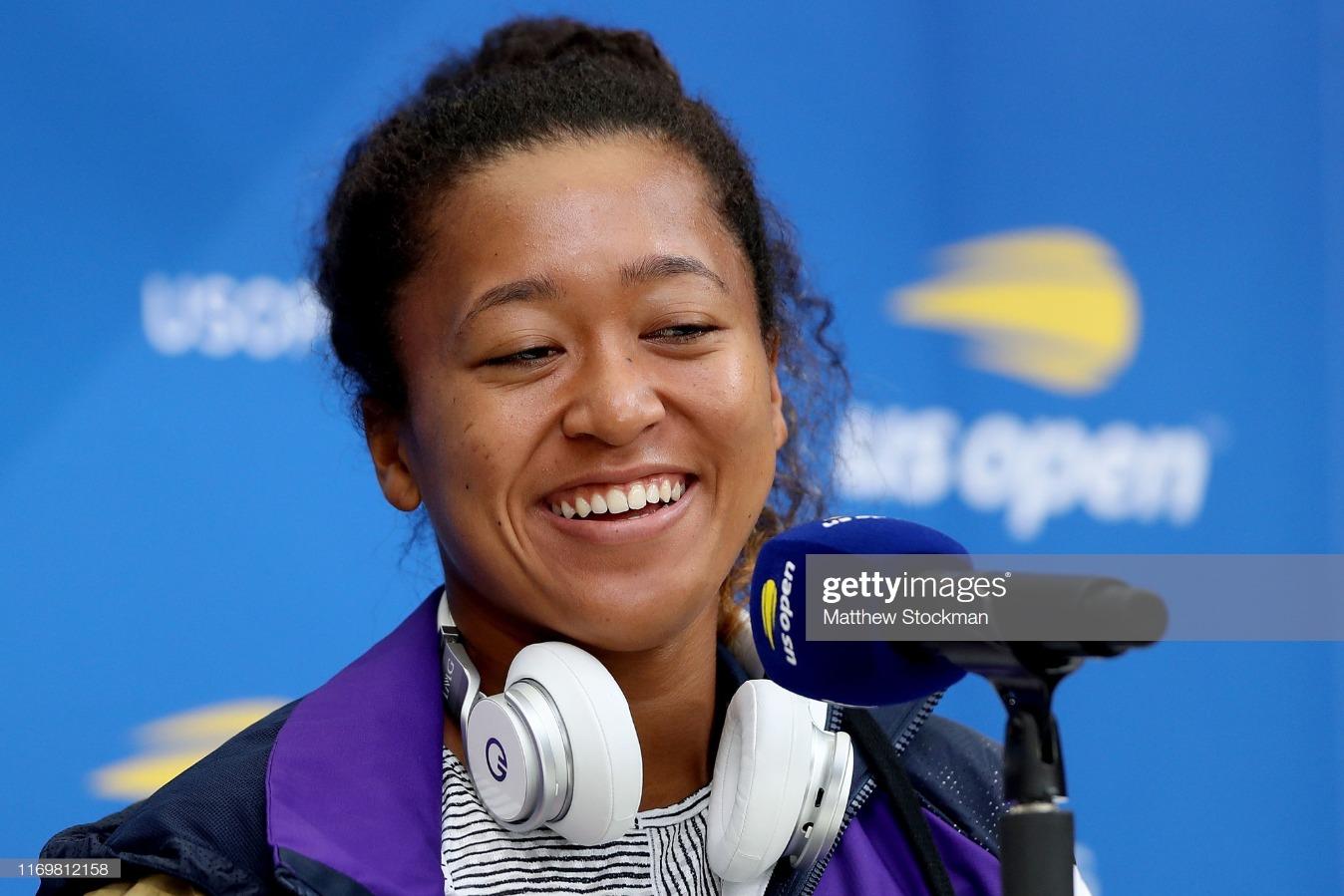 2019 US Open - Media Day : News Photo