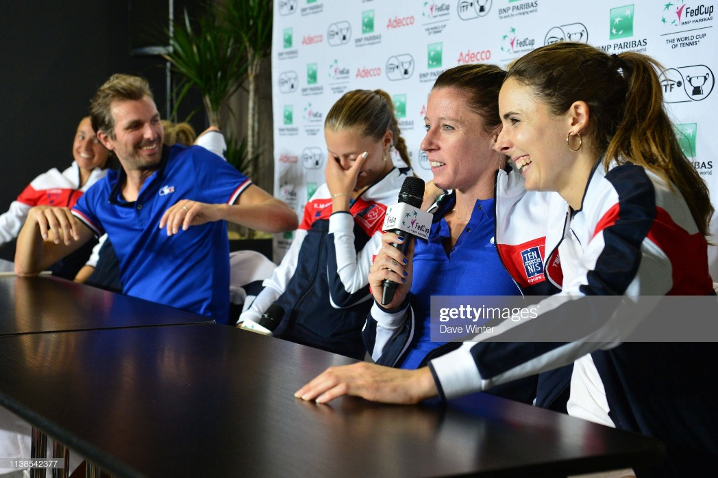 France v Romania - Fed Cup : News Photo