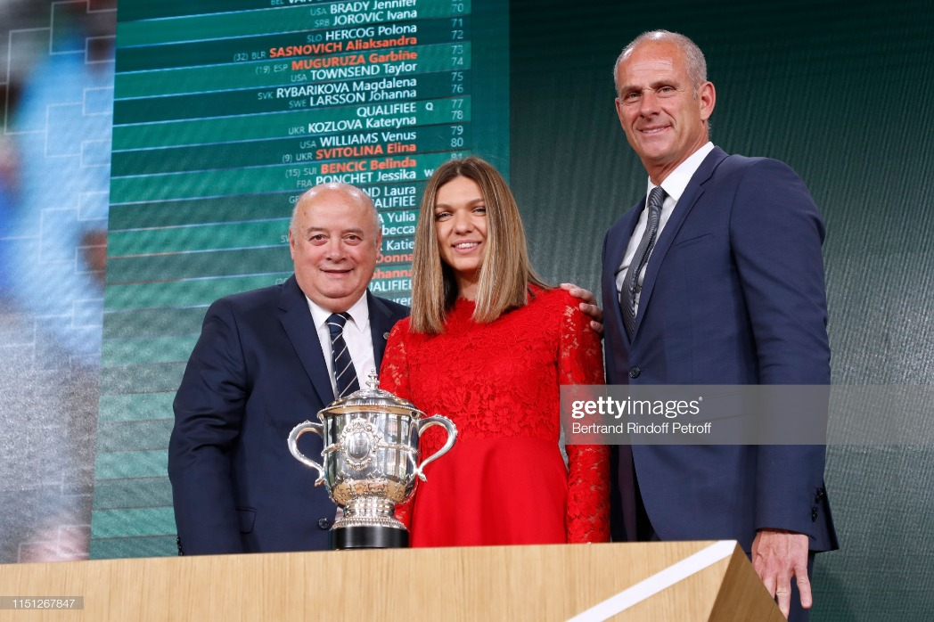 2019 Tennis French Open : Women's And Men's Singles Draw At Roland Garros In Paris : News Photo