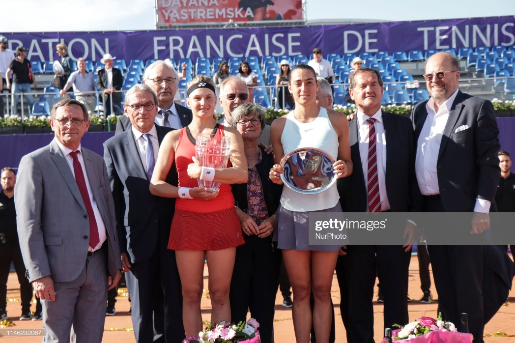 International Strasbourg Tennis - Finals : News Photo