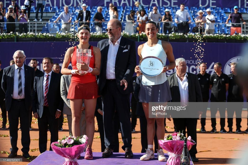 International Strasbourg Tennis - Finals : News Photo