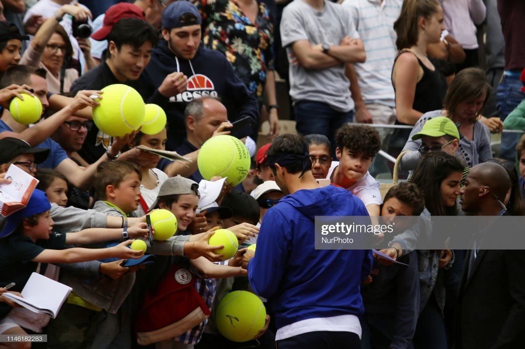 Roland Garros Kids Day : News Photo