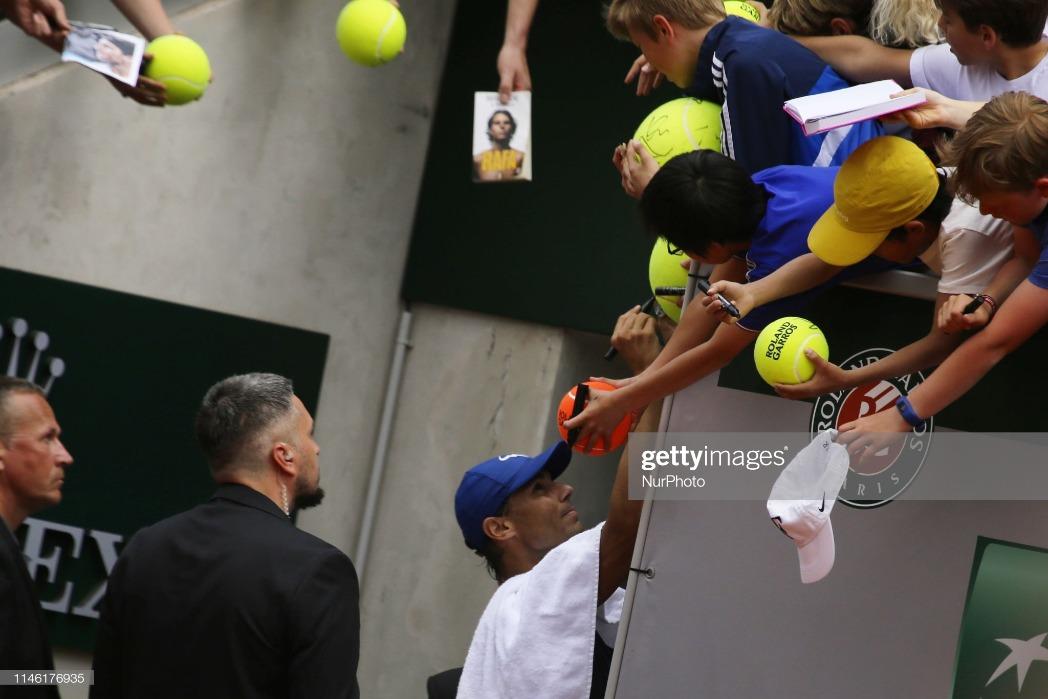 Roland Garros Kids Day : News Photo