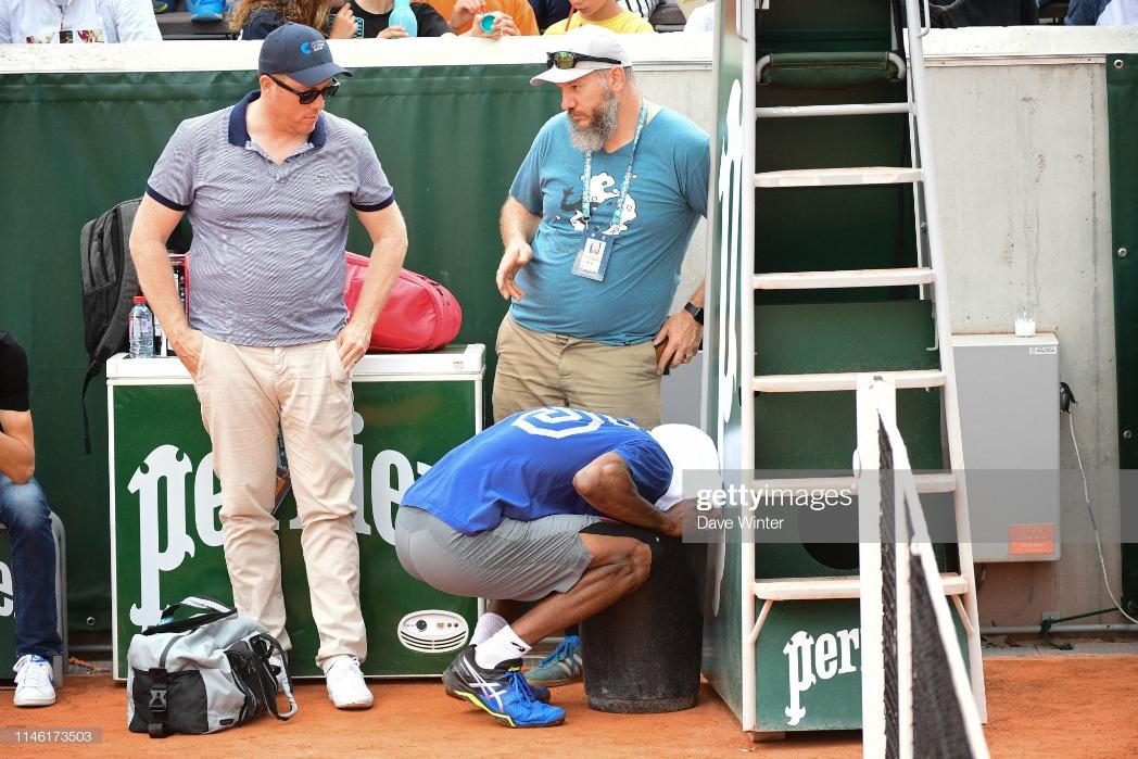 Roland Garros : News Photo