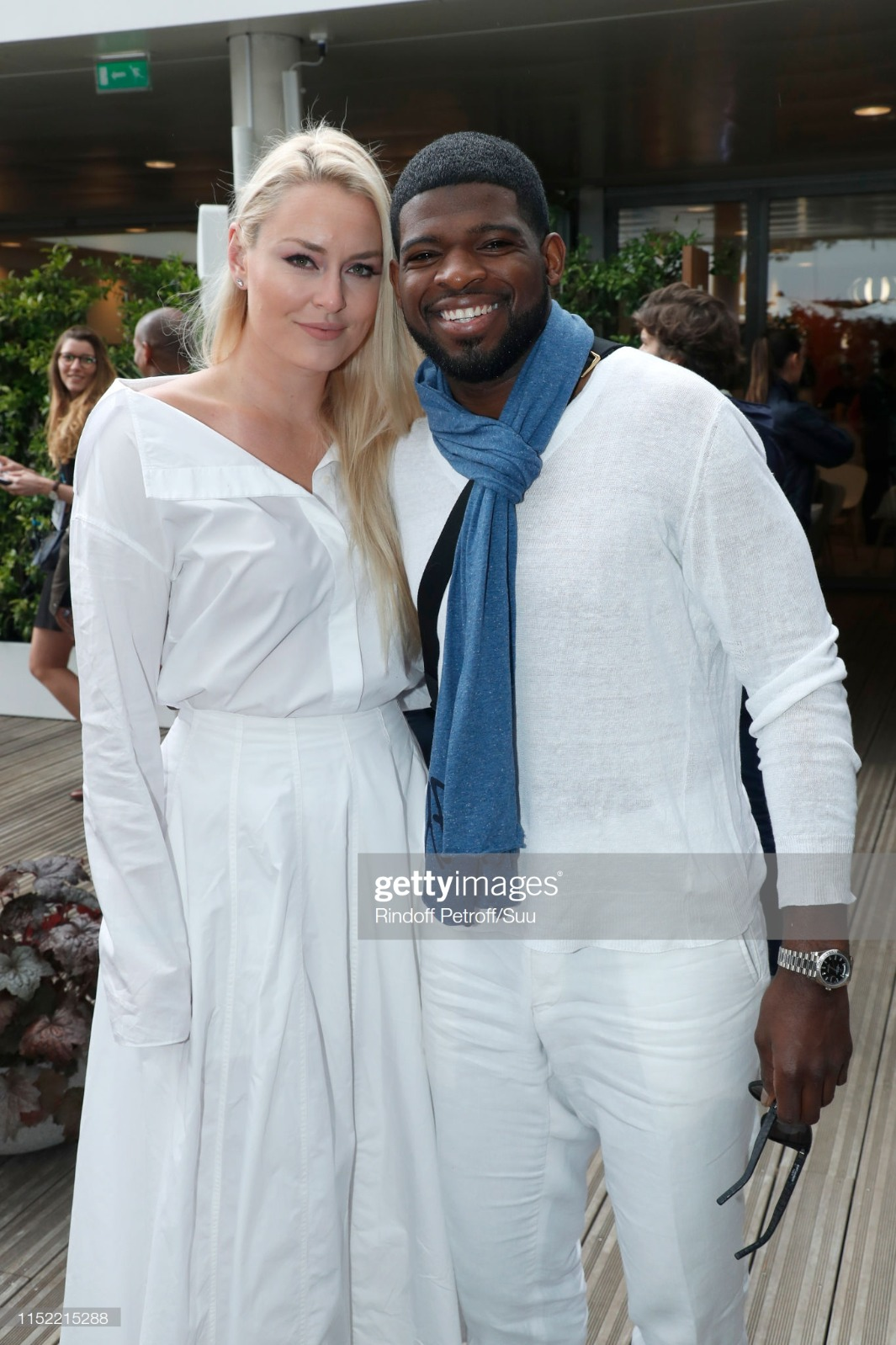 Celebrities At 2019 French Open - Day Three : News Photo