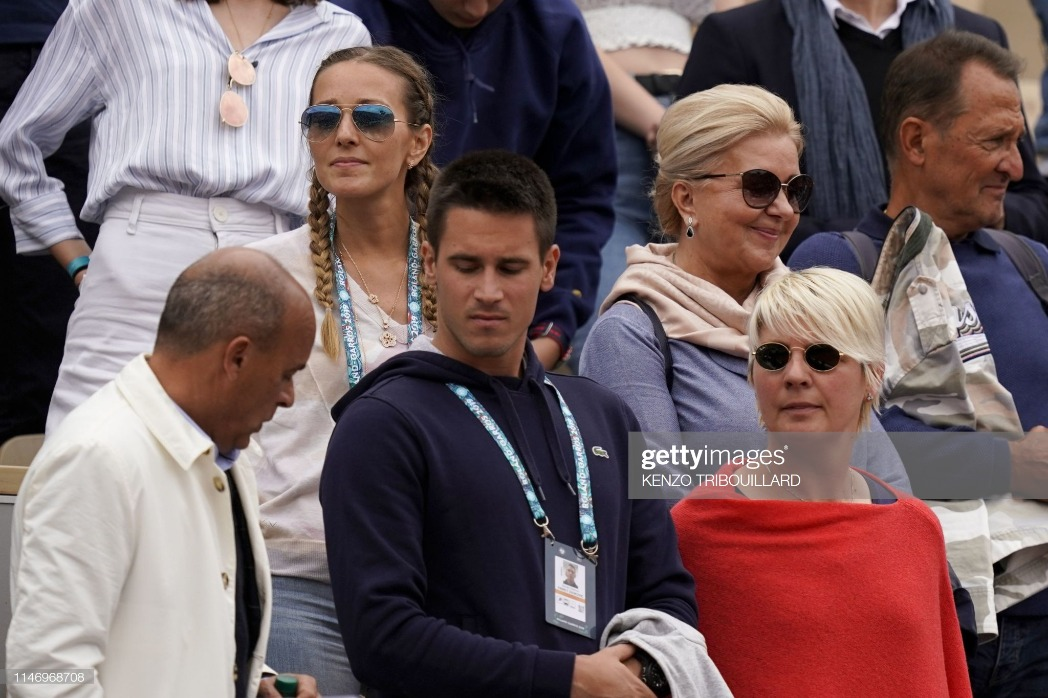 TENNIS-FRA-OPEN-MEN-CELEBS : News Photo