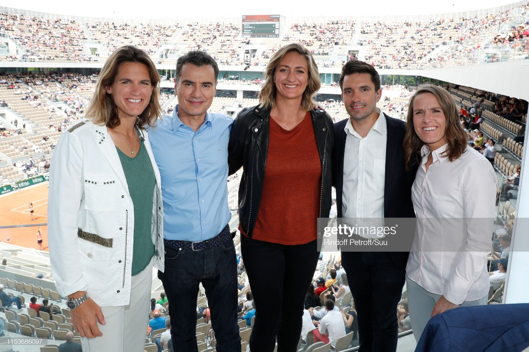 Celebrities At 2019 French Open - Day Ten : News Photo