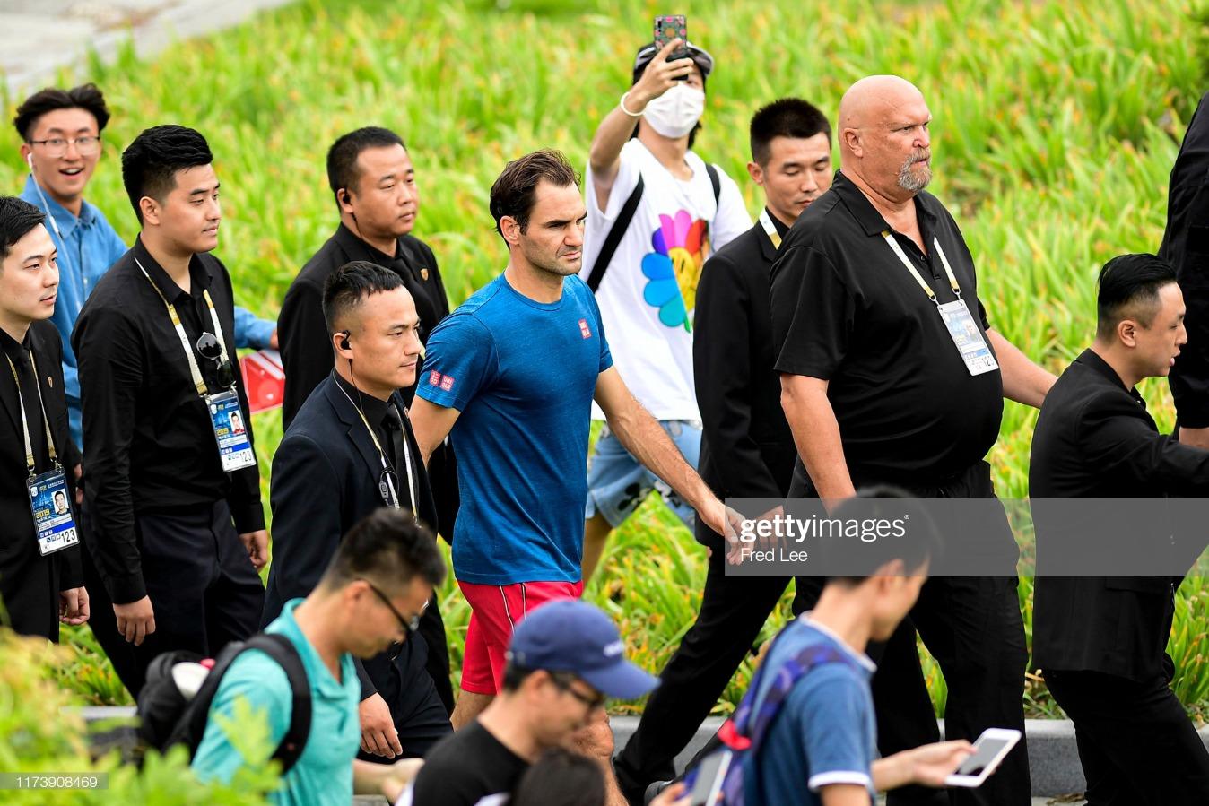 2019 Rolex Shanghai Masters - Day 2 : News Photo