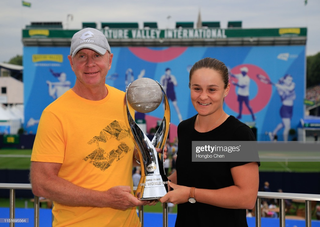 2019 Nature Valley International Tennis Tournament Jun 24th : News Photo