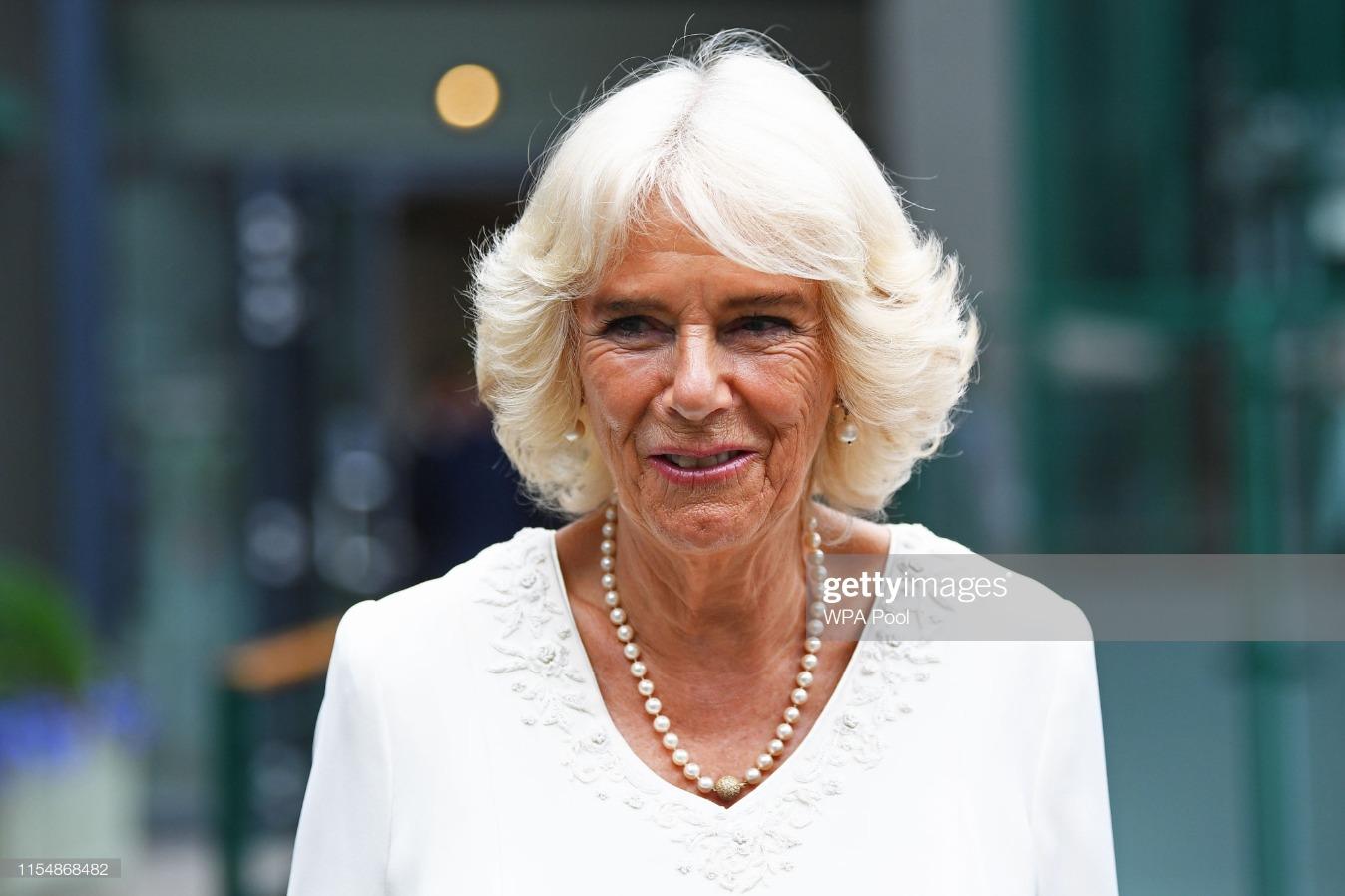 The Duchess of Cornwall Attends Wimbledon 2019 - Day 9 : News Photo