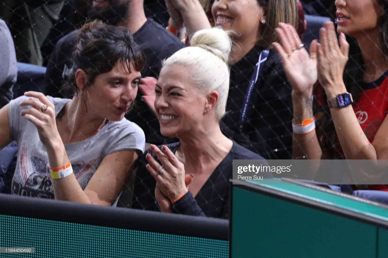 Celebrities At Rolex Paris Masters - Day Five : News Photo