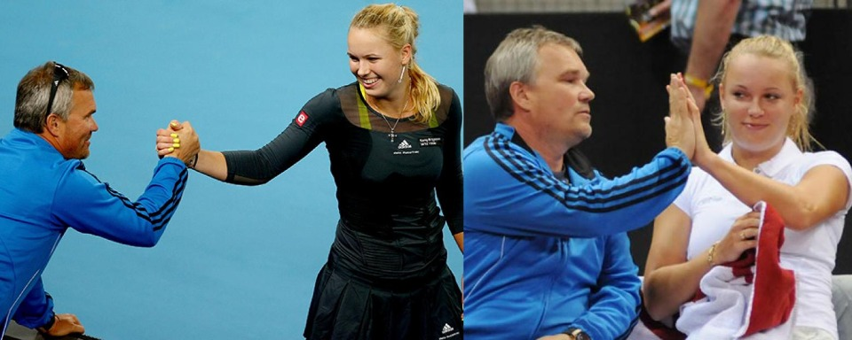 Image result for wozniacki father