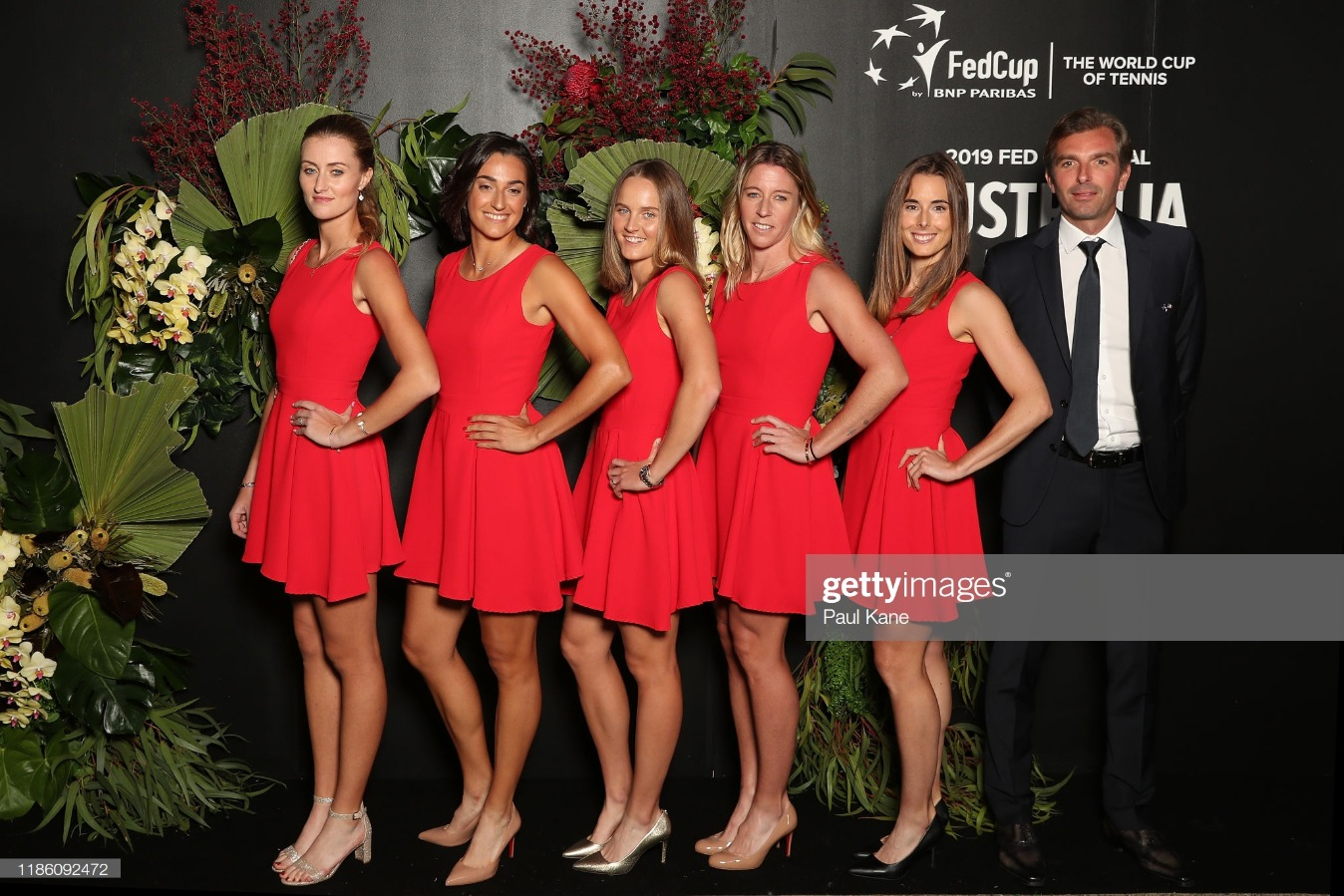 2019 Fed Cup Final Official Dinner : News Photo