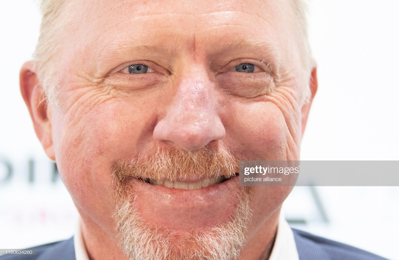 Boris Becker : News Photo