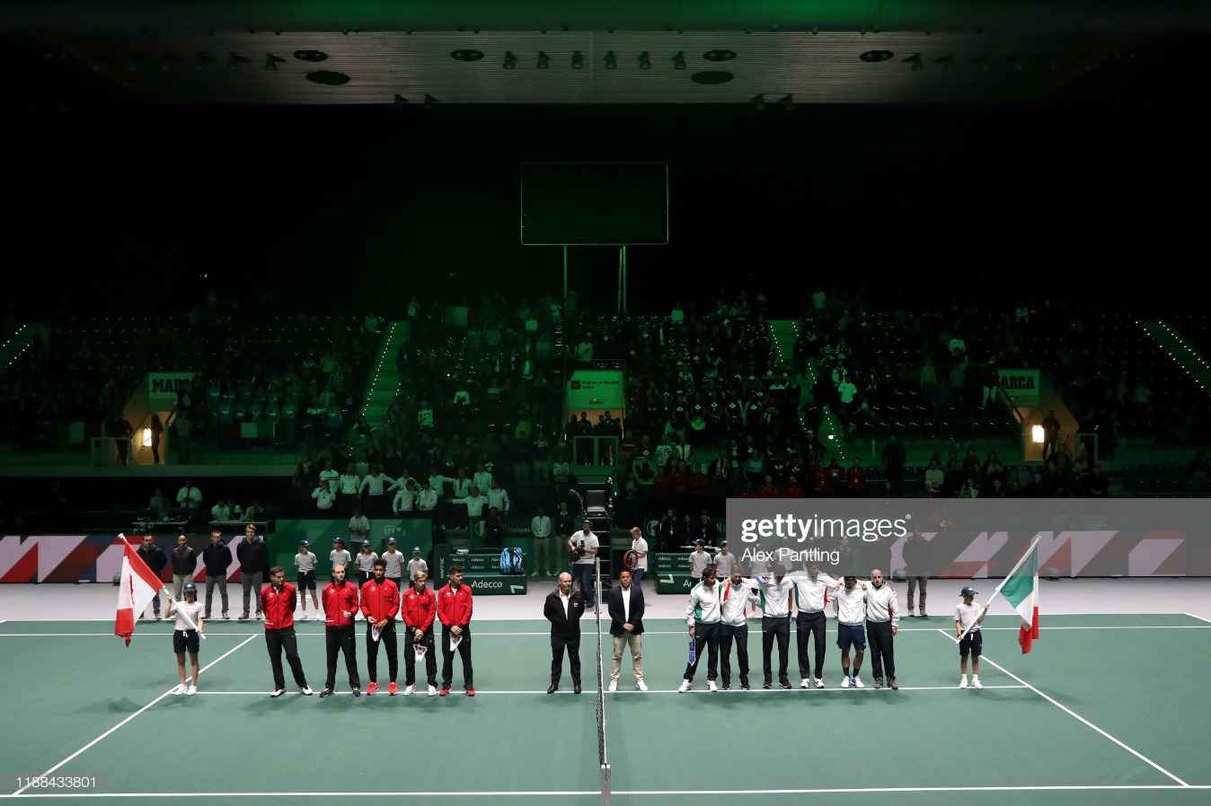 2019 Davis Cup - Day One : News Photo