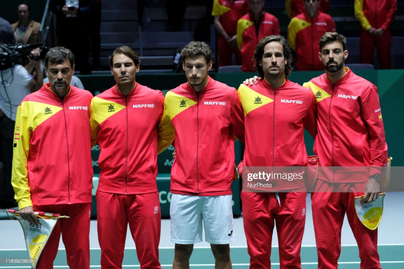 Davis Cup Day 5 - Pablo Carreno v Guido Pella : News Photo