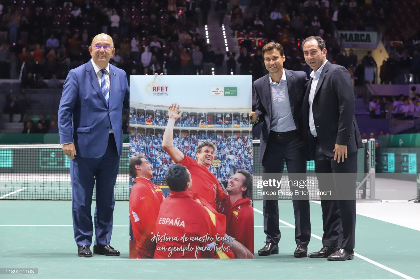 Day 7 - Celebrities Attend Copa Davis Finals in Madrid : News Photo