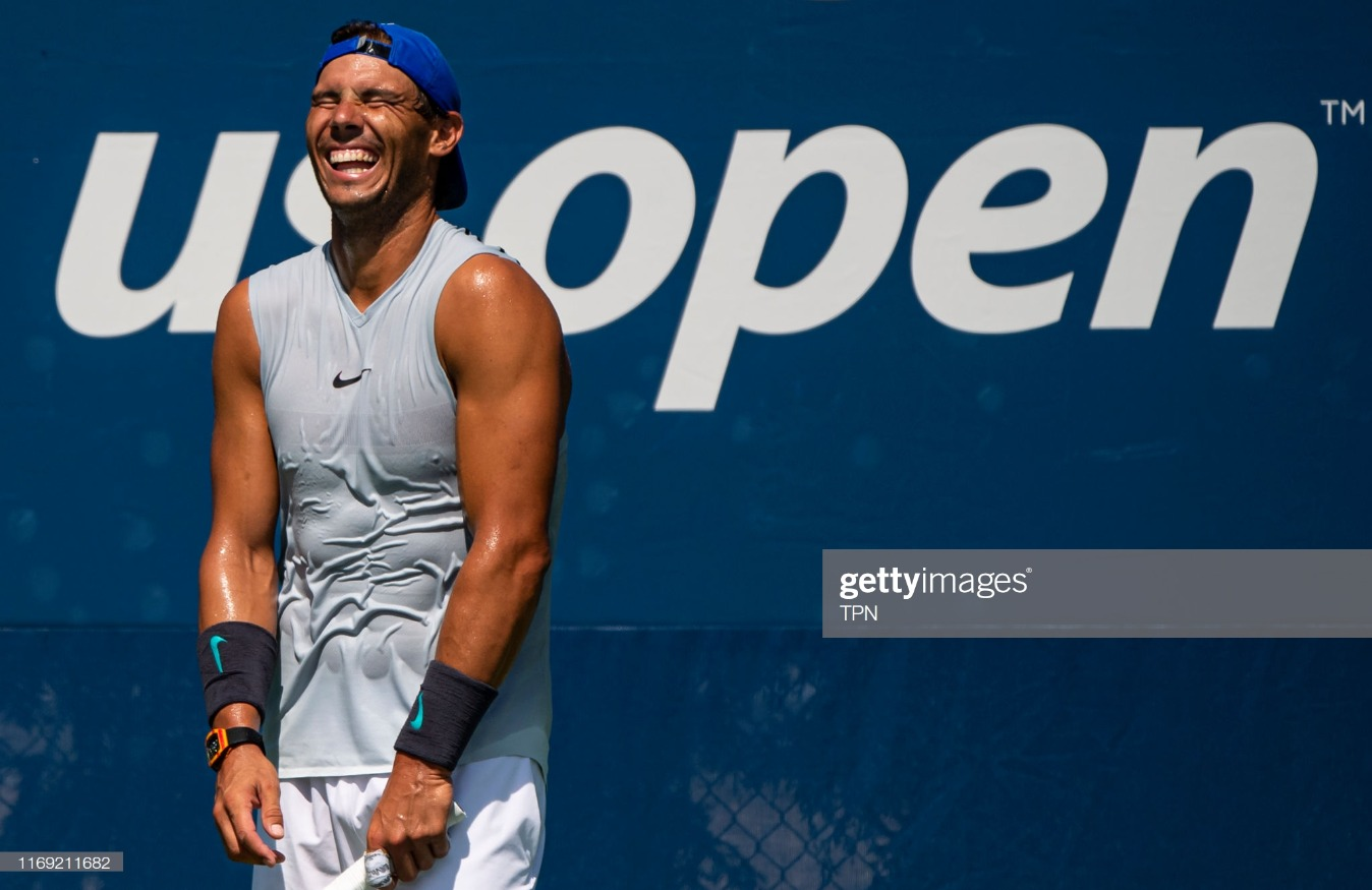 2019 US Open - Qualifying & Training : News Photo