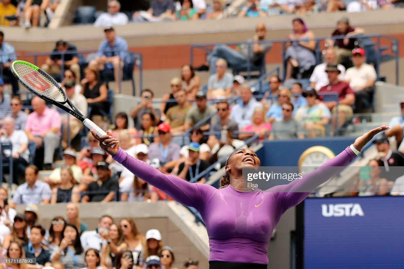 2019 US Open - Day 5 : News Photo