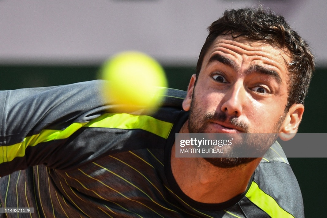 TOPSHOT-TENNIS-FRA-OPEN-MEN : News Photo