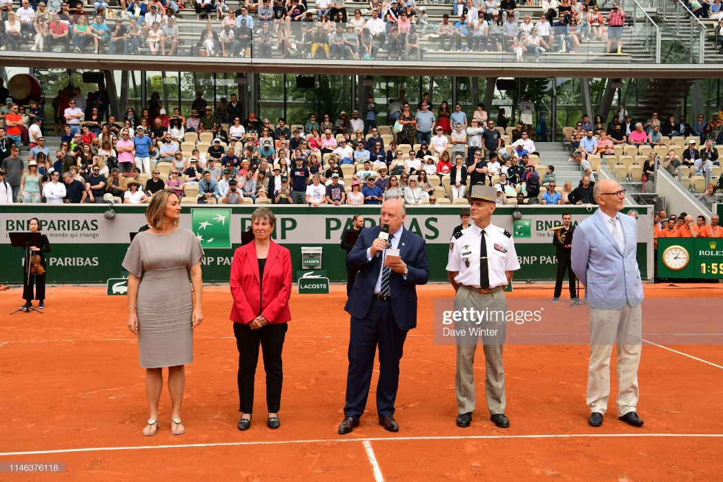 Roland Garros - First Round : News Photo