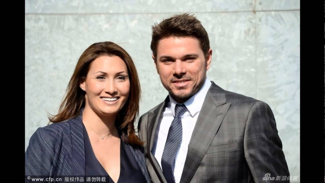 Image result for wawrinka and ex wife