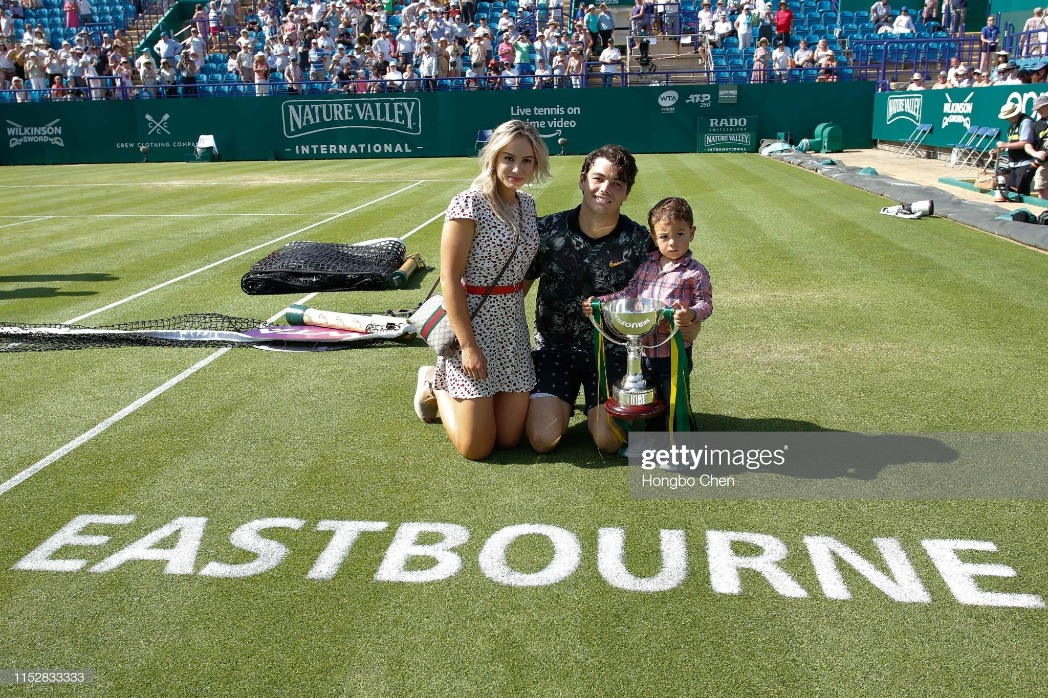 2019 Nature Valley International Tennis Tournament Jun 29th : News Photo