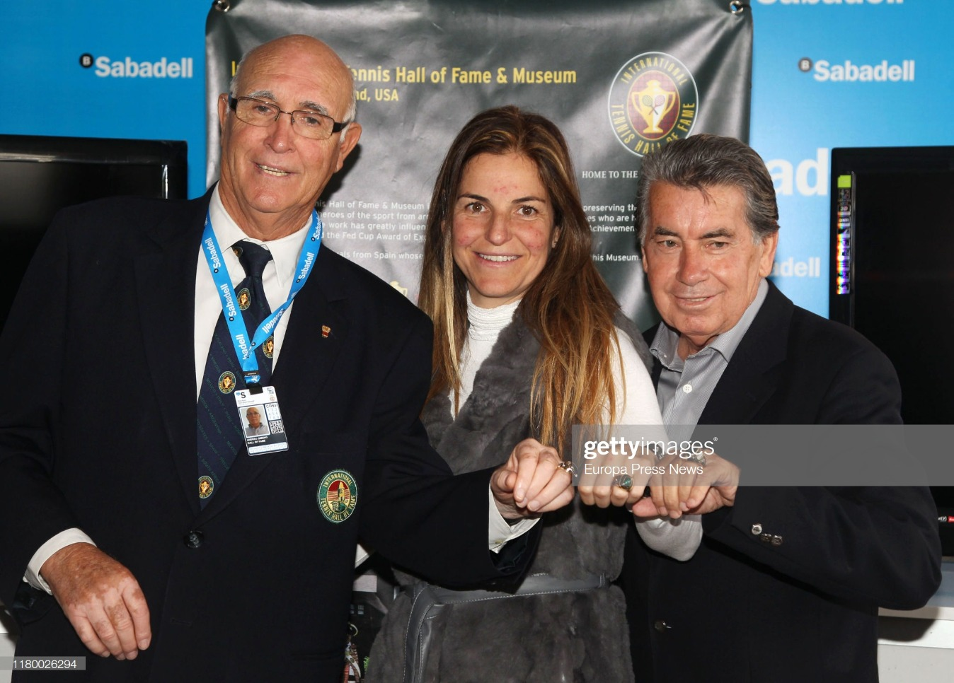 Tennis Player Andres Gimeno Dies : News Photo