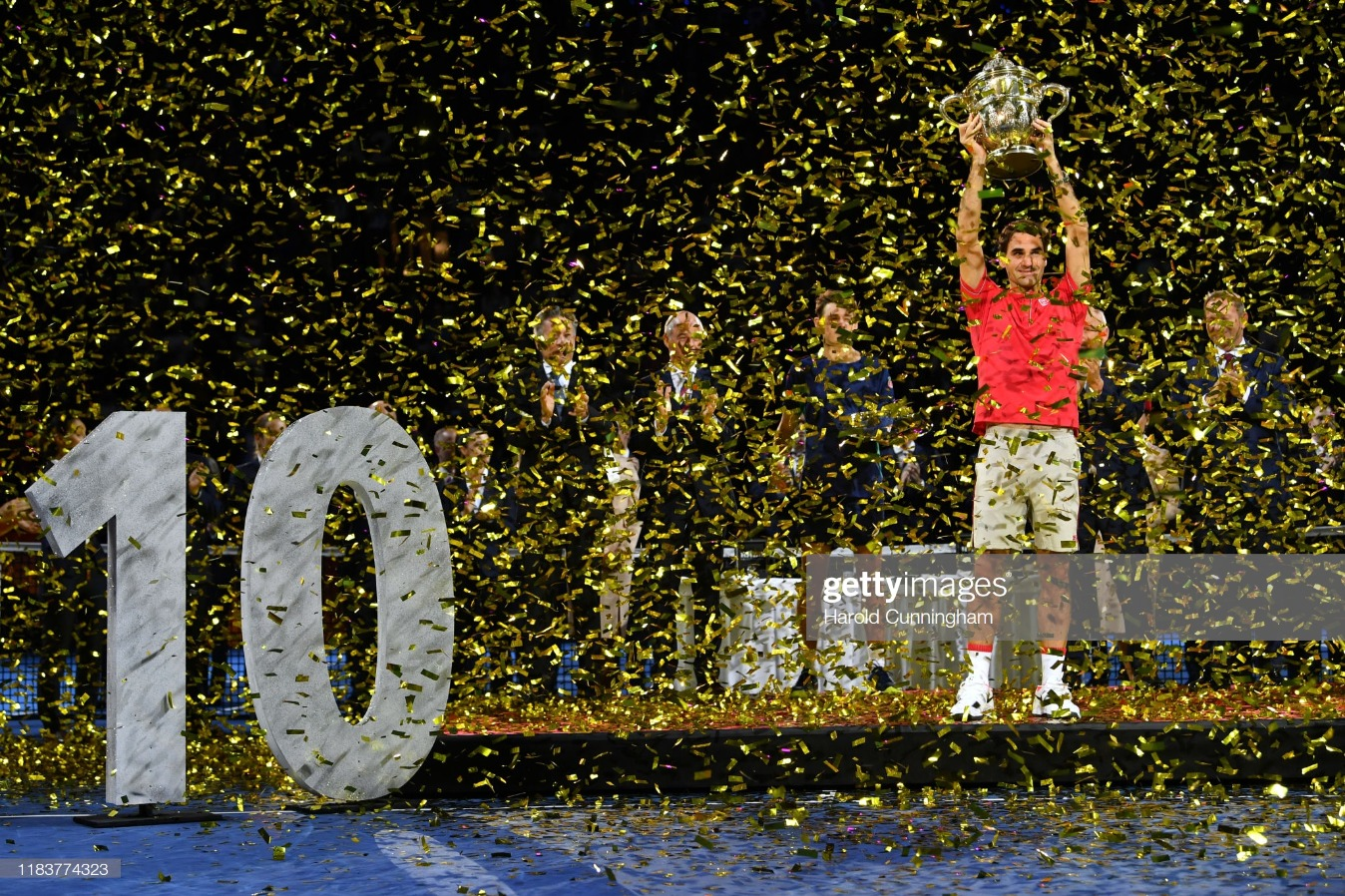 The Swiss Indoors Basel : News Photo