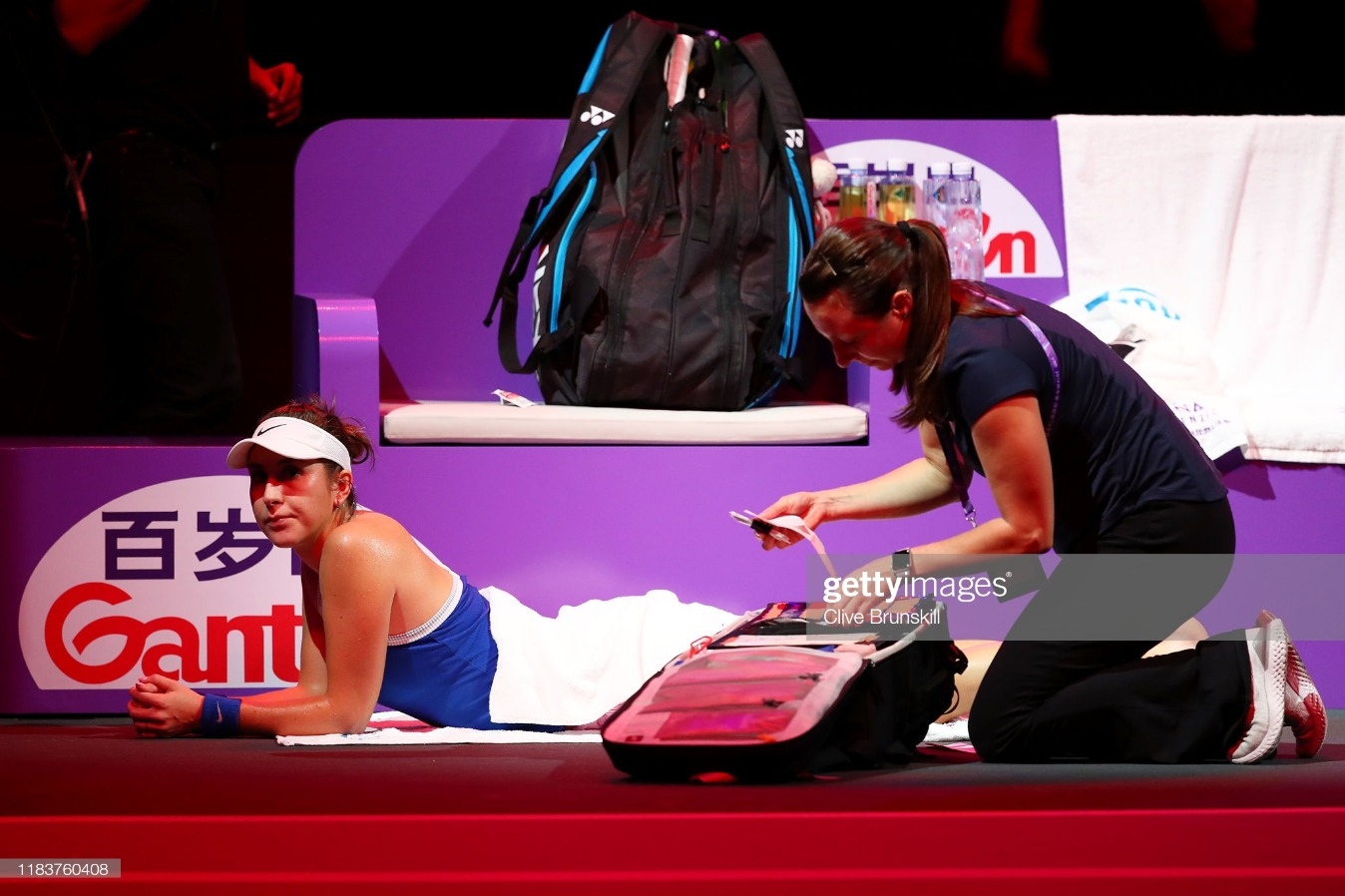 2019 WTA Finals - Day One : News Photo