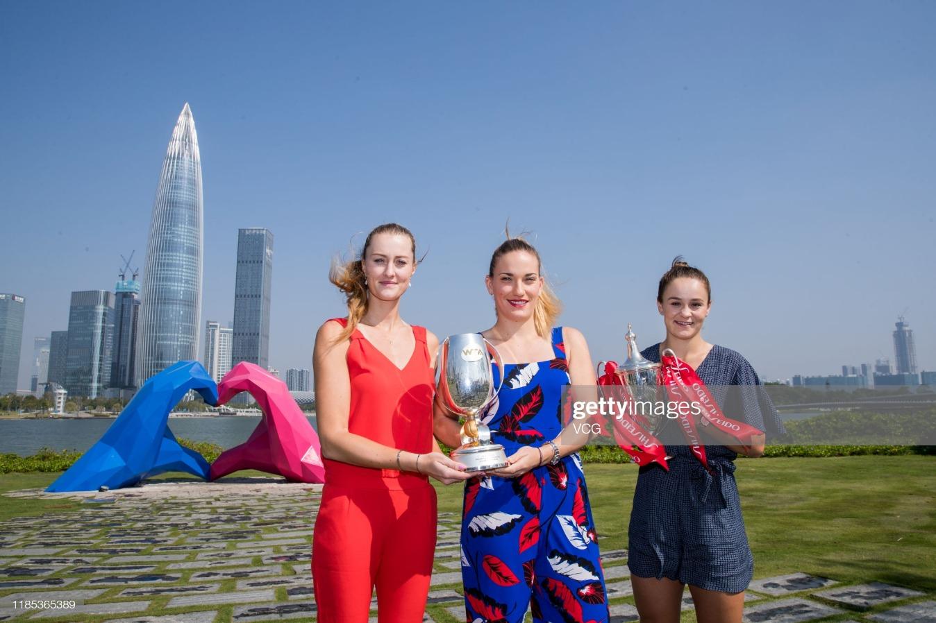 2019 WTA Finals - Champions Portrait : News Photo