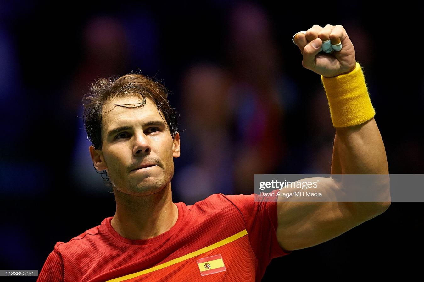 2019 Davis Cup - Day Three : News Photo