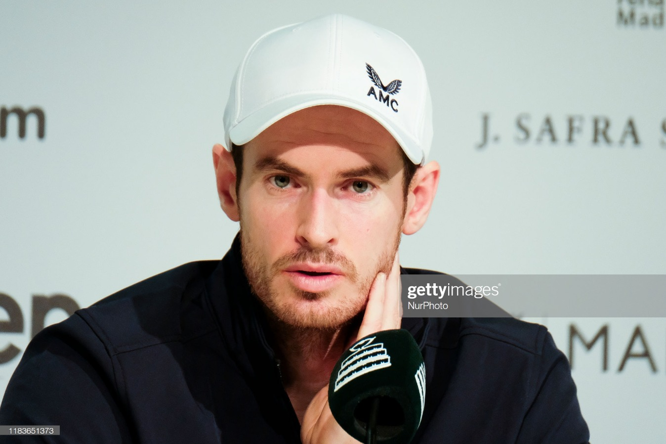 2019 Davis Cup - Day Three: Andy Murray The Press Conference : News Photo