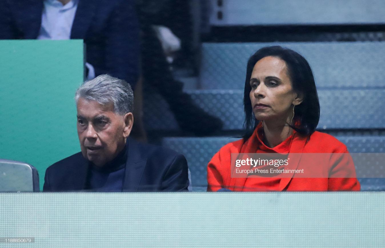 Day 6 - Celebrities Attend Copa Davis Finals in Madrid : News Photo