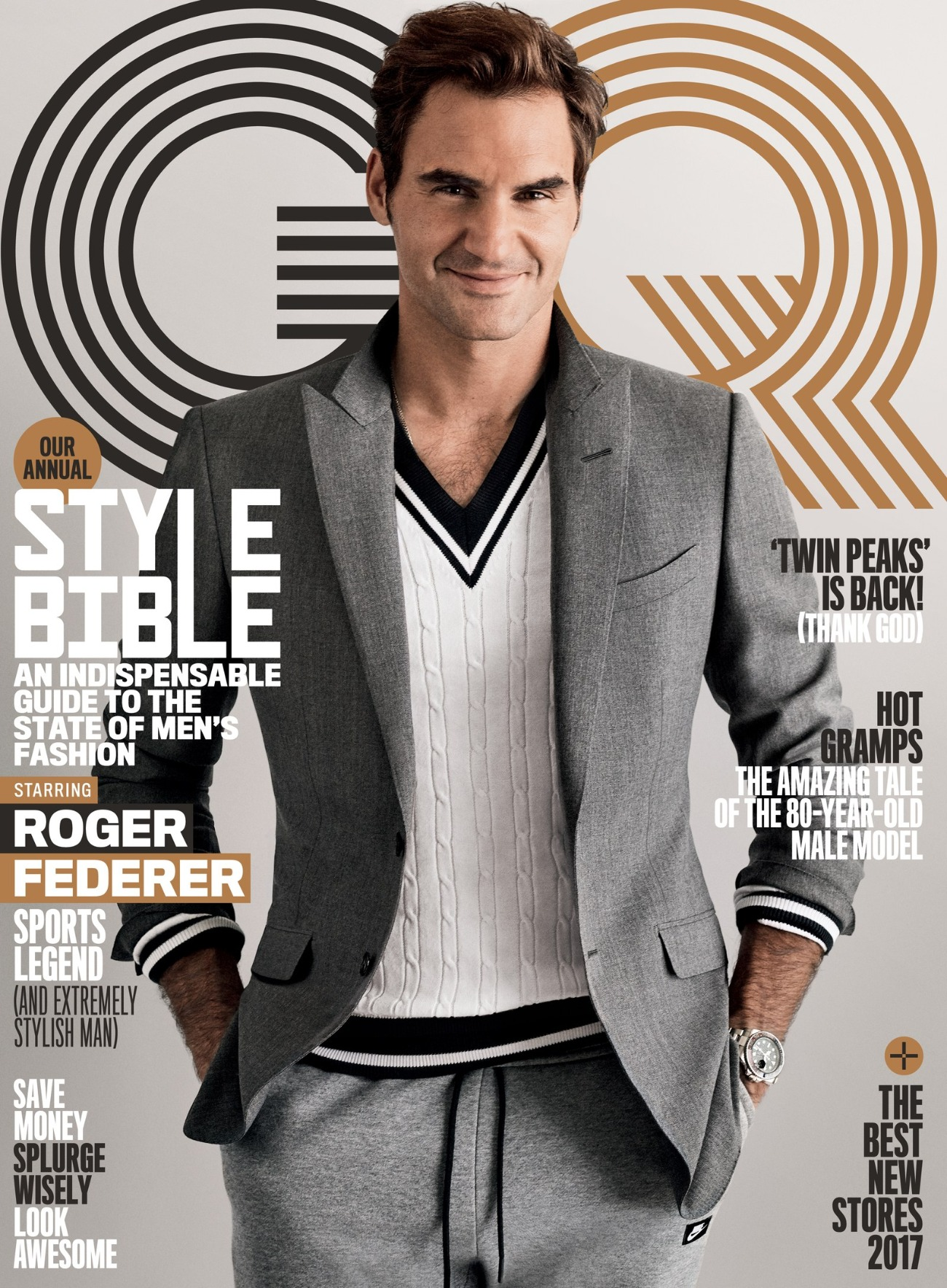 Image result for federer on magazine cover gq