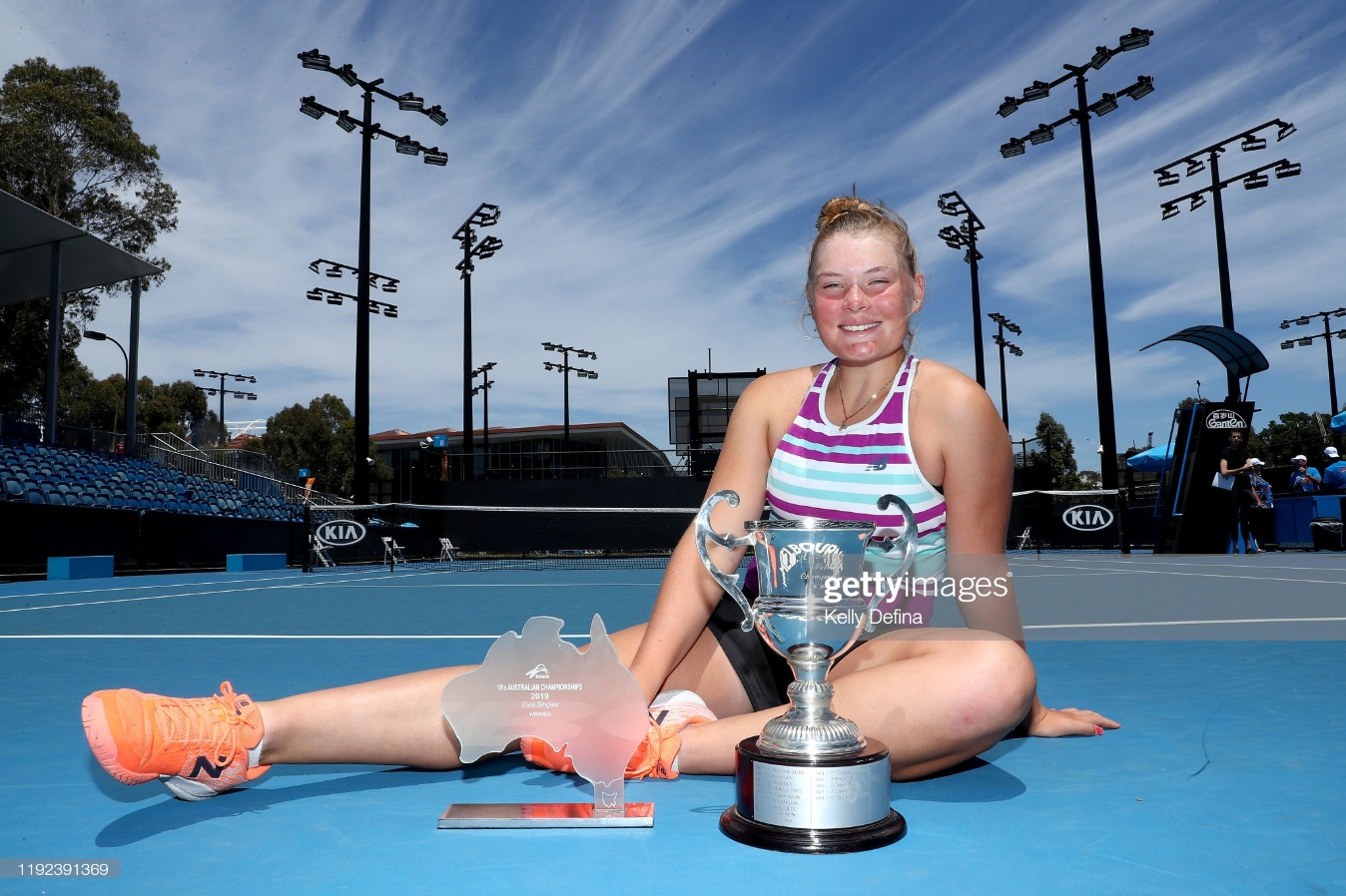 2019 Australian Open December Showdown : News Photo
