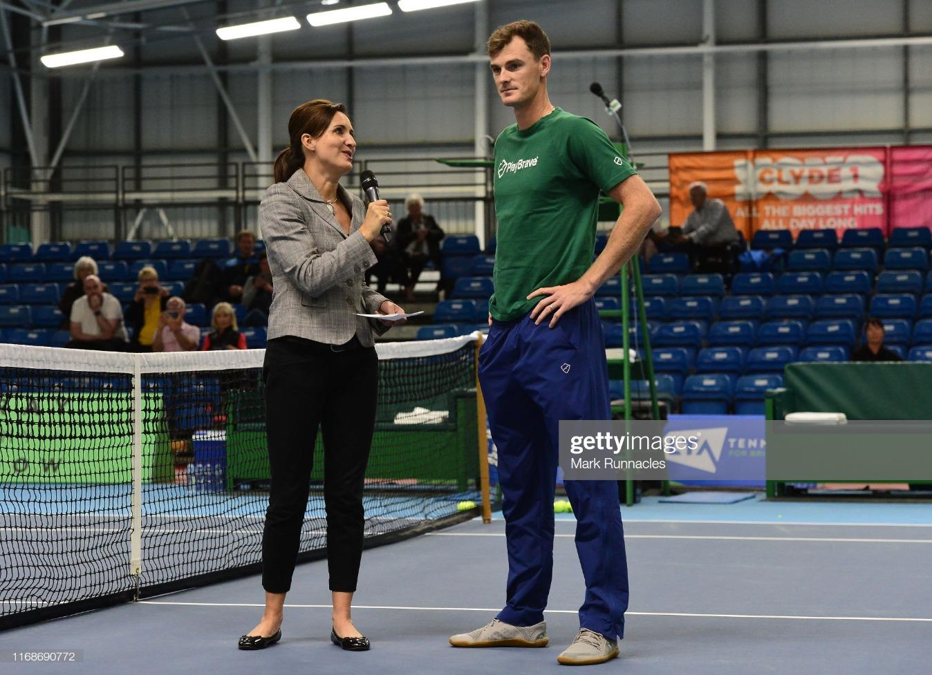 The Murray Trophy - Glasgow: Day 1 : News Photo