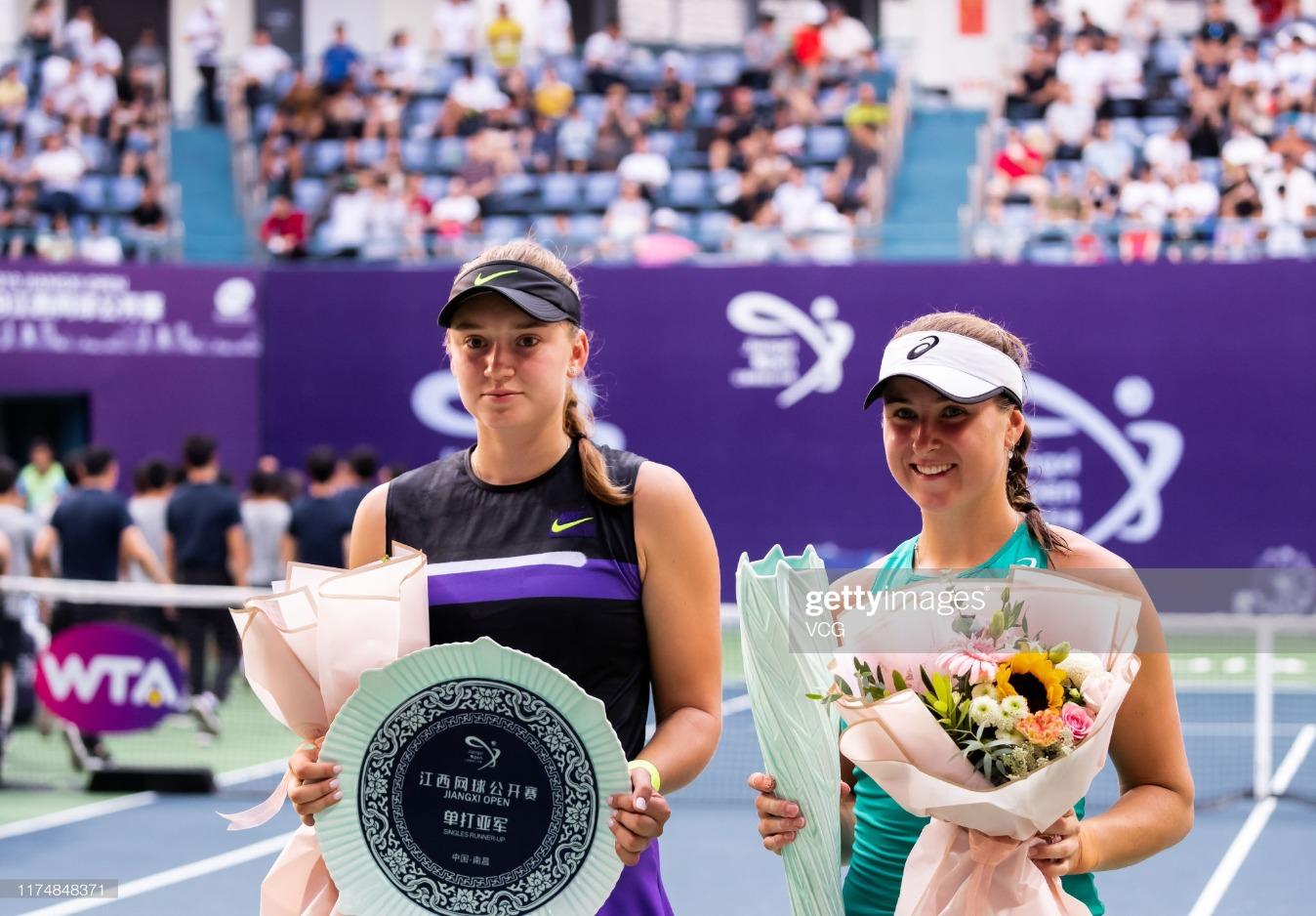 2019 WTA Jiangxi Open - Final : News Photo