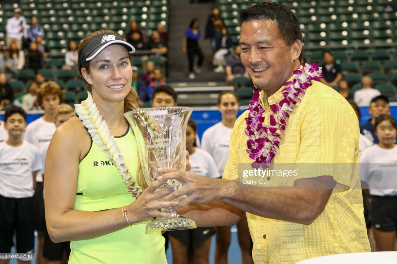 Hawaii Tennis Open : News Photo