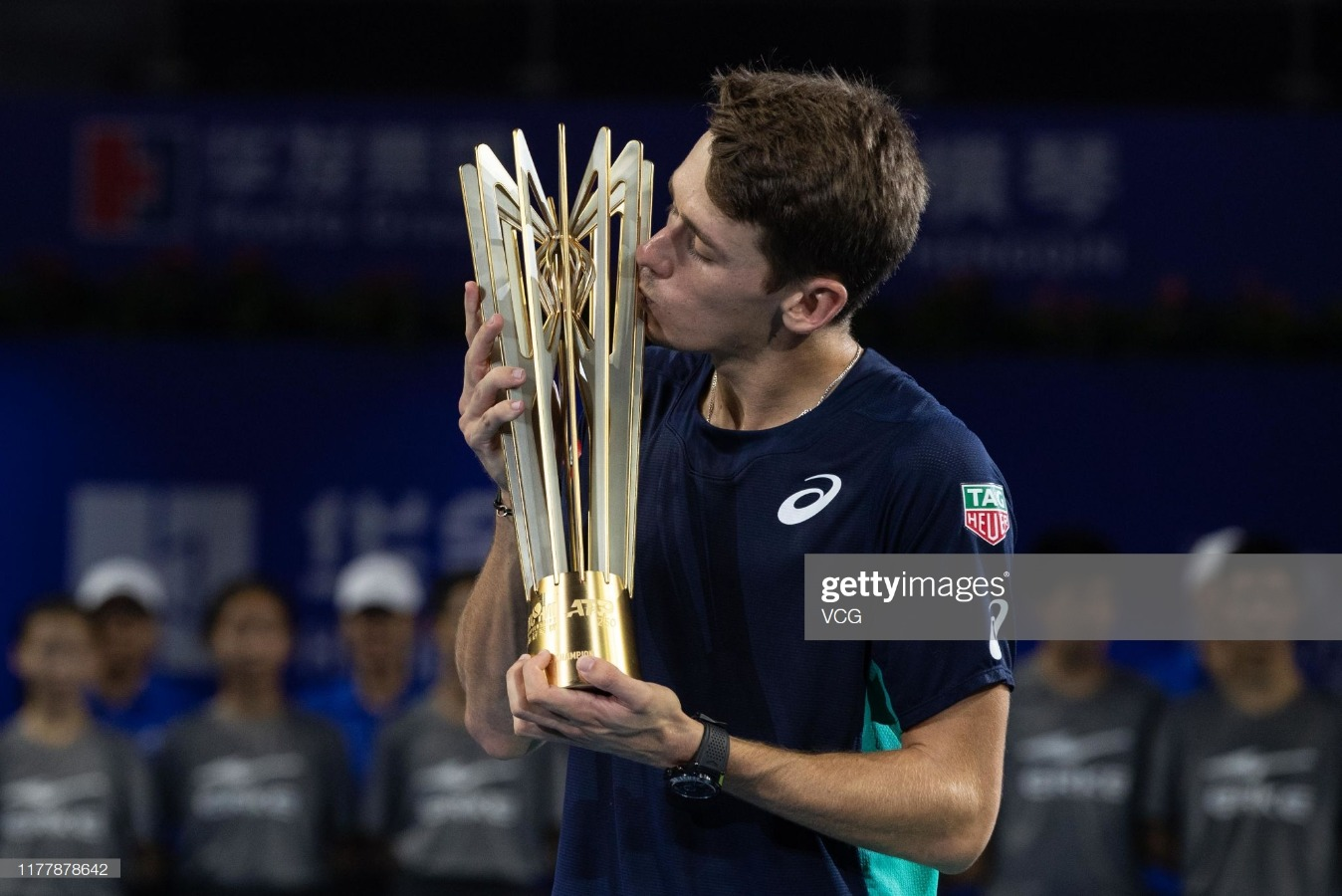 2019 ATP World Tour 250 Zhuhai Championships - Day 7 : News Photo